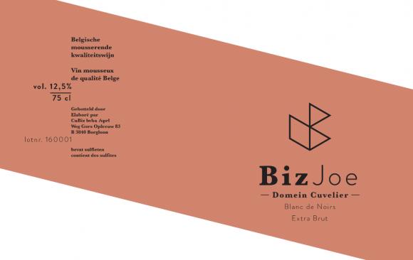 Domein Cuvelier - BizJoe - Blanc de Noirs