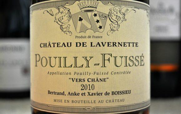 Château de Lavernette - Pouilly Fuissé 2010