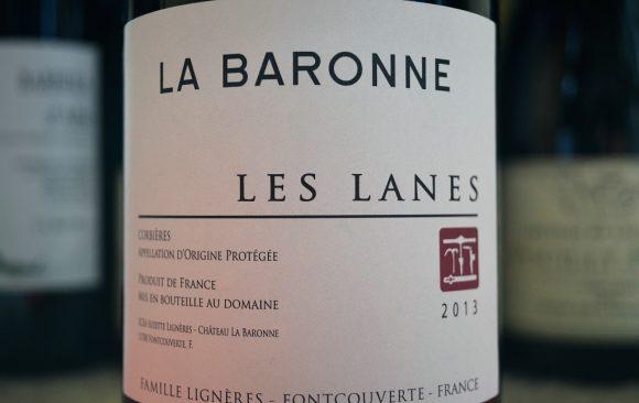 Château La Baronne - Les Lanes 2013