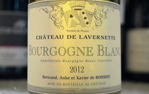 Château de Lavernette - Bourgogne Blanc 2012